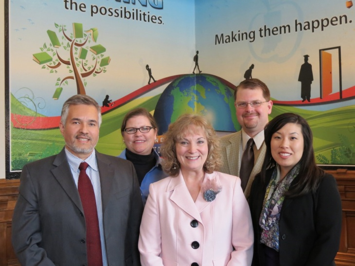 The HAMTE Board Meets with Superintendent Ritz
