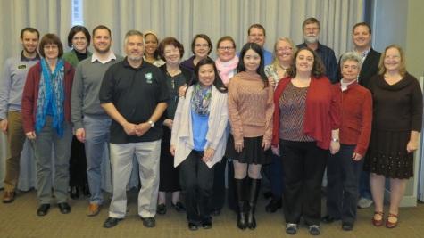 HAMTE members at the 2014 business meeting.