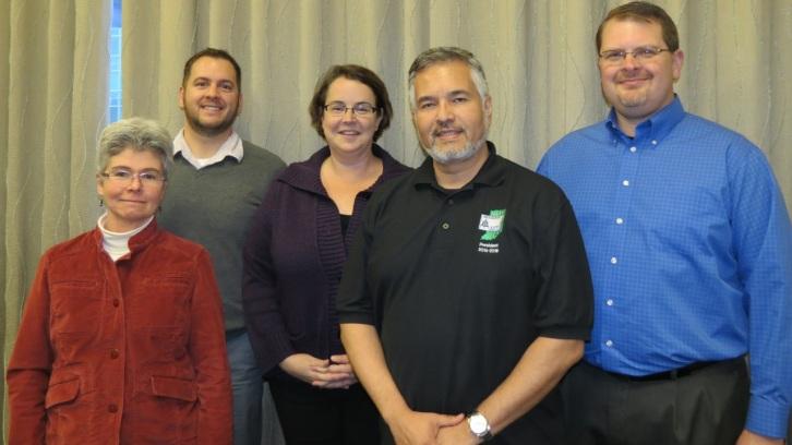 HAMTE Board Members 2014 - 2015.